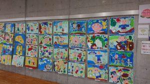 [お知らせ]🍑「保育園児・幼稚園児のももたろうの絵」展覧会開催🍑